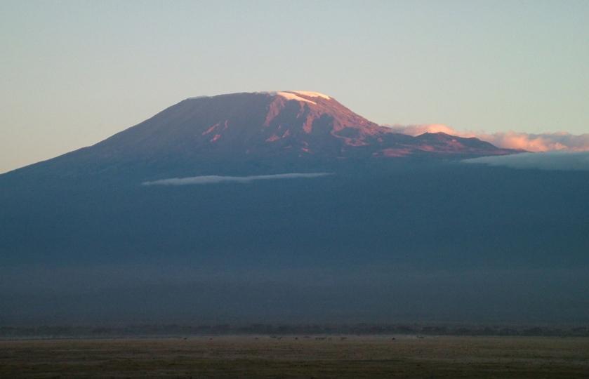 Kilimanjaro at Sunset