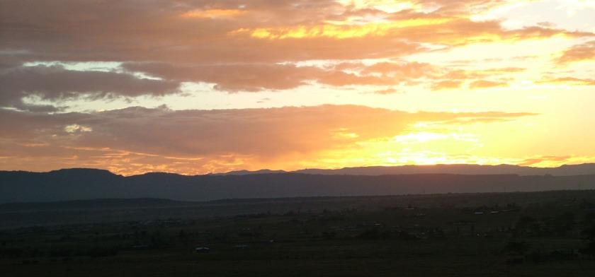 Lake Nakuru sunset