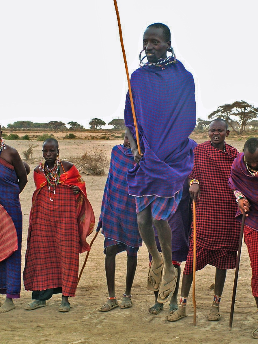 Maasai Welcome Dance
