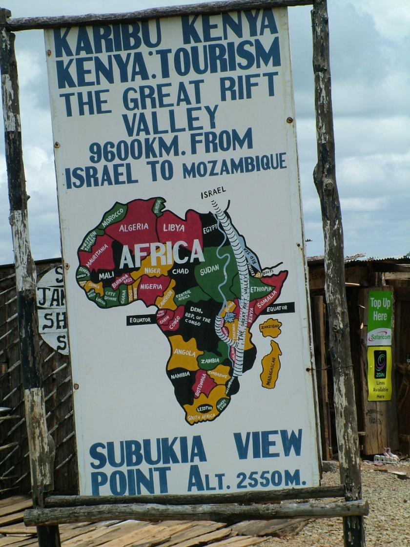 Rift Valley sign
