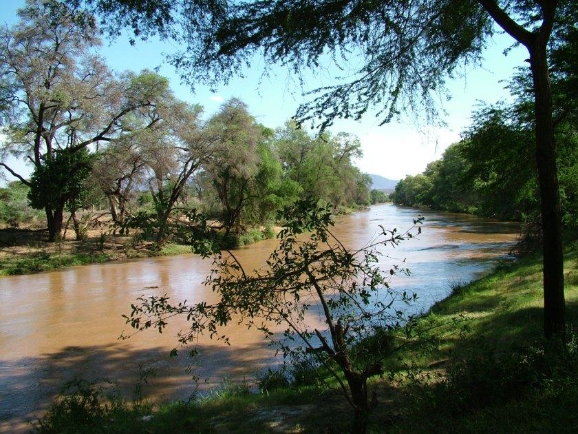 Samburu River outside our room