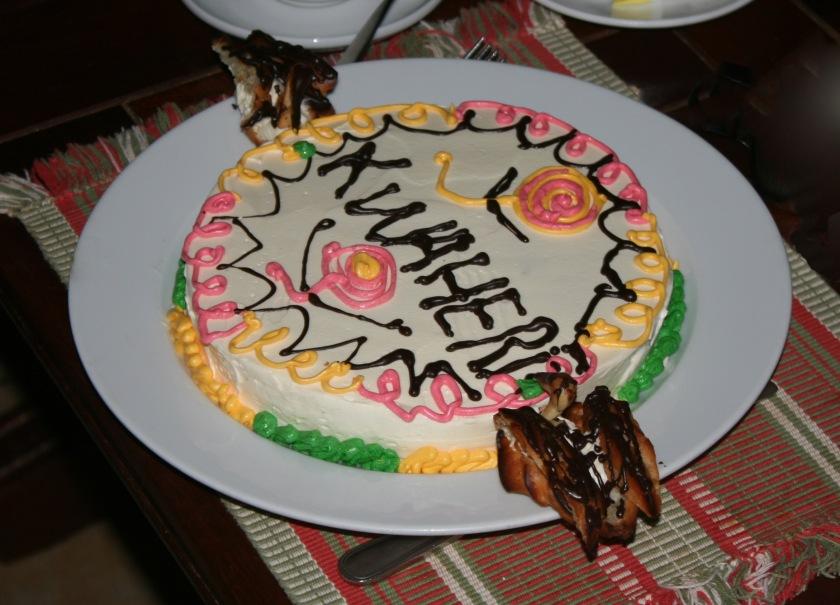Samburu Kwaheri Cake