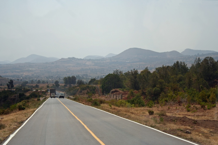 The road to Samburu